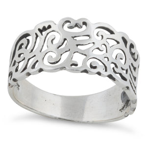 Sterling Silver Freeform Ring