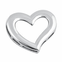 Load image into Gallery viewer, Sterling Silver Heart Pendant