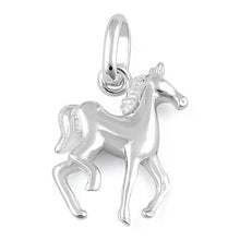 Load image into Gallery viewer, Sterling Silver Horse Pendant
