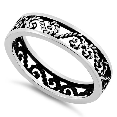 Sterling Silver Eternity Knot Ring