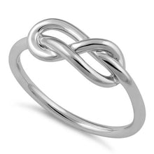 Load image into Gallery viewer, Sterling Silver Infinity Knot Ring