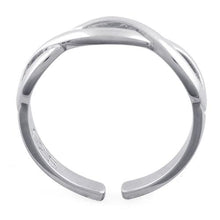 Load image into Gallery viewer, Sterling Silver Infinity Sign Adjustable Ring
