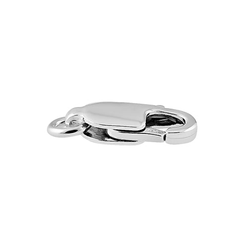Sterling Silver Italian Lobster Lock 10mm - Pack of 2