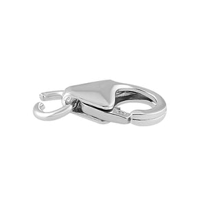 Sterling Silver Italian Lobster Lock 8mm - Pack of 2