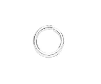 Sterling Silver Jump Ring Open (.051) 16ga. 9mm Heavy - PACK OF 10
