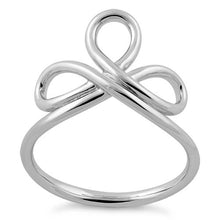 Load image into Gallery viewer, Sterling Silver Lace Ribbon Ring
