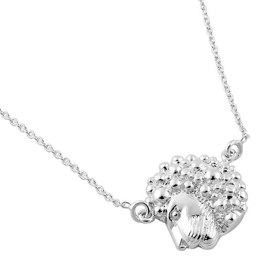 Sterling Silver Leo Necklace