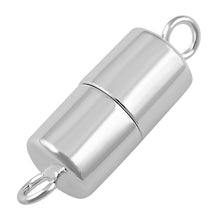 Load image into Gallery viewer, Sterling Silver Magnetic Clasp 6 x 13mm