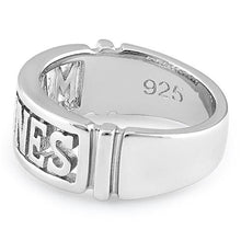 Load image into Gallery viewer, Sterling Silver Men's MARINES Ring