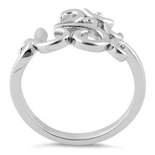 Load image into Gallery viewer, Sterling Silver Om Ring
