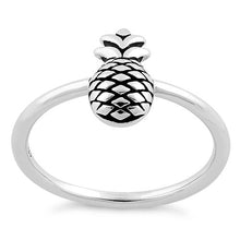 Load image into Gallery viewer, Sterling Silver Pineapple Ring