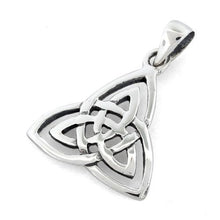Load image into Gallery viewer, Sterling Silver Plain Celtic Light Pendant