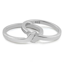 Load image into Gallery viewer, Sterling Silver Puzzle Band Ring