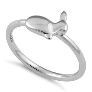 Sterling Silver Rabbit Ring