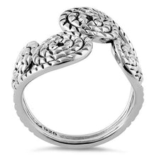 Load image into Gallery viewer, Sterling Silver Rope Swirls Ring