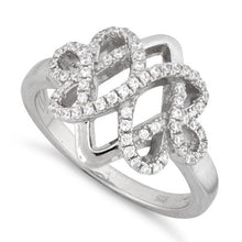 Load image into Gallery viewer, Sterling Silver Royal Pave CZ Ring