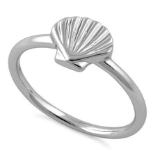 Load image into Gallery viewer, Sterling Silver Shell Ring