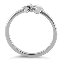 Load image into Gallery viewer, Sterling Silver Single Plumeria Flower Ring