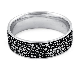 Sterling Silver Spinkles Ring