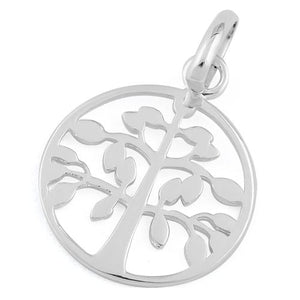 Sterling Silver Sprouting Tree of Life Pendant