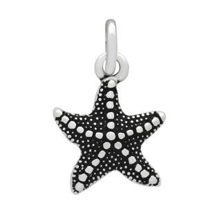 Sterling Silver Starfish Charm Pendant