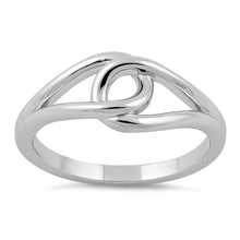 Load image into Gallery viewer, Sterling Silver String Knot Ring