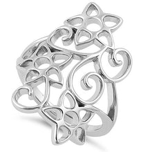 Load image into Gallery viewer, Sterling Silver Summer Flowers Ring