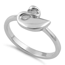 Load image into Gallery viewer, Sterling Silver Swan Ring
