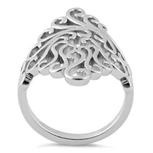 Load image into Gallery viewer, Sterling Silver Swirls Ring