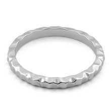 Load image into Gallery viewer, Sterling Silver Thin Hammered Ring