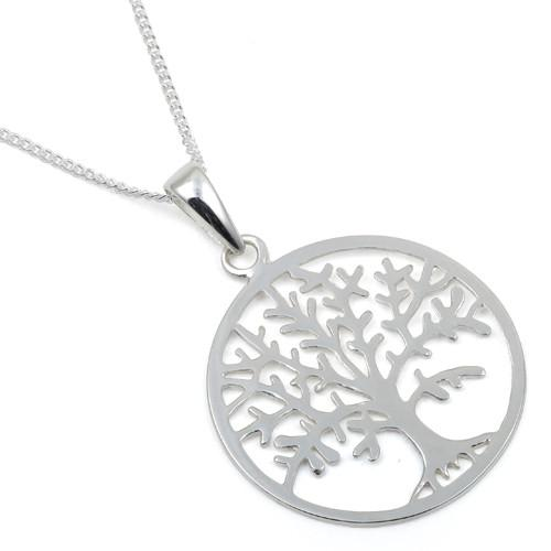 Sterling Silver Tree of Life 16