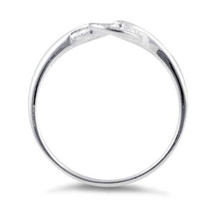 Sterling Silver Triple Circle Ring