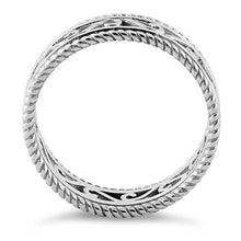 Load image into Gallery viewer, Sterling Silver Unique Band Ring