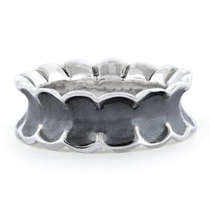 Sterling Silver Unique Oxidized Ring