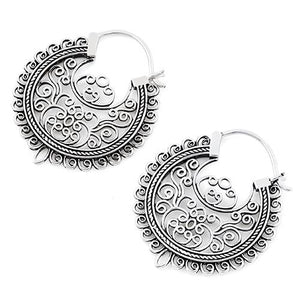 Sterling Silver Vintage Dangle Earrings