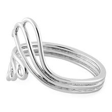 Load image into Gallery viewer, Sterling Silver Waves & Wind Ring