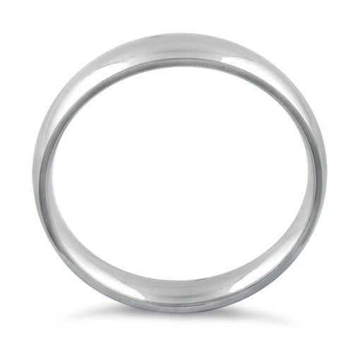 Sterling Silver Wedding Band 3mm