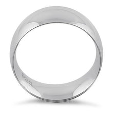 Load image into Gallery viewer, Sterling Silver Wedding Band 8mm