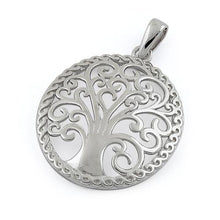 Load image into Gallery viewer, Sterling Silver Whimsic Tree of Life Pendant