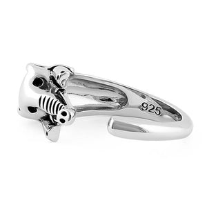 Sterling Silver Wise Elephant Ring