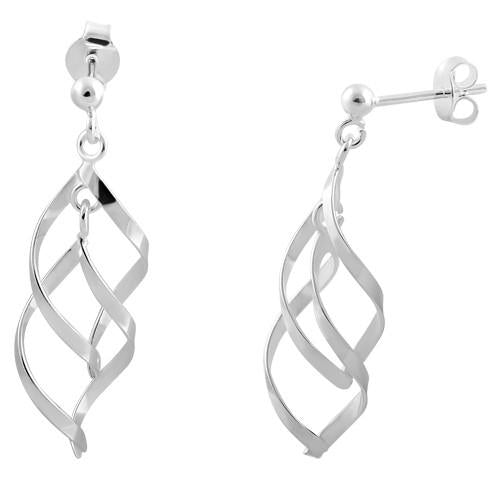 ab54ba6e4 Sterling Silver Elegant Dangle Earrings