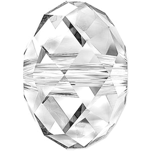 Swarovski Beads 5040 Briolette, 6MM, Crystal - Pack of 10