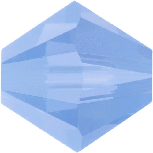 Swarovski Beads 5328 Bicone, 3MM, Air Blue Opal - Pack of 30
