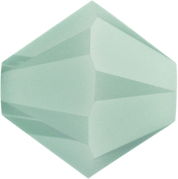 Swarovski Beads 5328 Bicone, 3MM, Mint Alabaster - Pack of 30