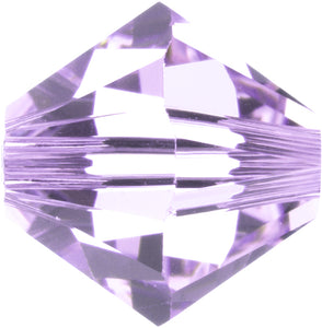 Swarovski Beads 5328 Bicone, 4MM, Alexandrite - Pack of 25