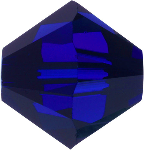 Swarovski Beads 5328 Bicone, 4MM, Cobalt - Pack of 25