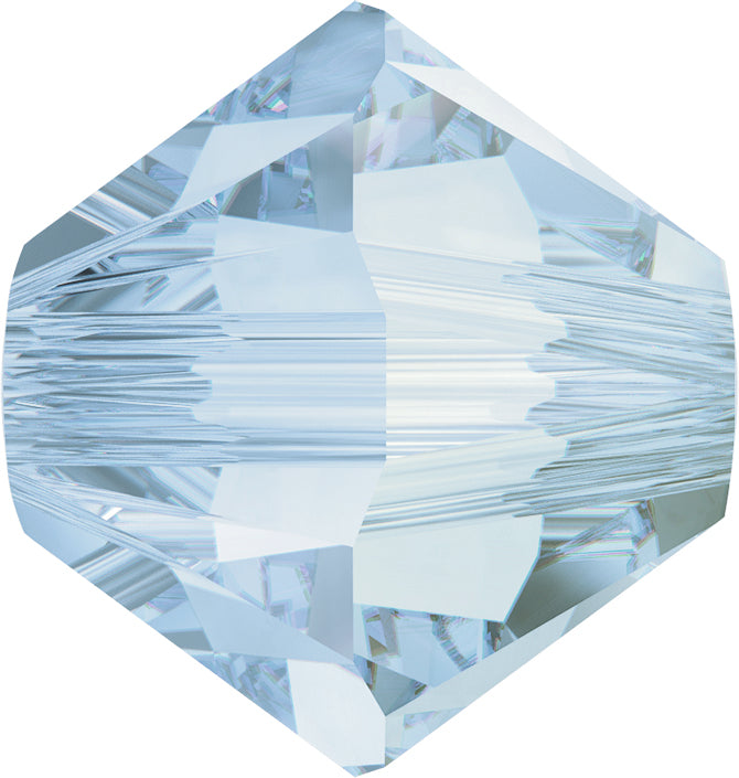 Swarovski Beads 5328 Bicone, 4MM, Crystal Blue Shade - Pack of 25
