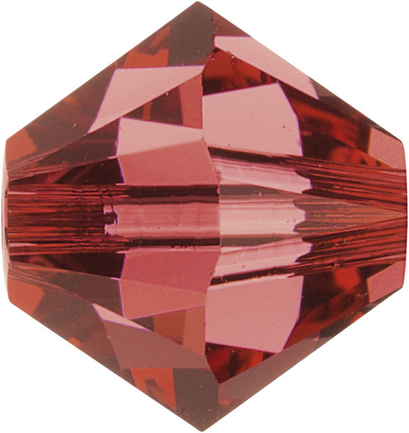 Swarovski Beads 5328 Bicone, 4MM, Padparadscha - Pack of 25
