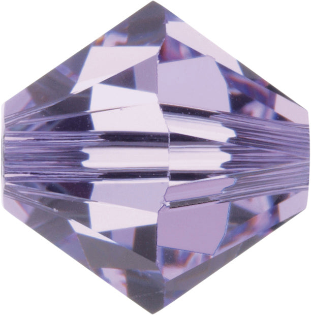 Swarovski Beads 5328 Bicone, 4MM, Violet - Pack of 25