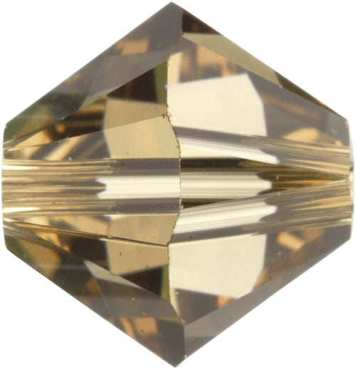 Swarovski Beads 5328 Bicone, 5MM, Light Colorado Topaz - Pack of 25